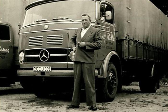 Firmengründer Franz Resing